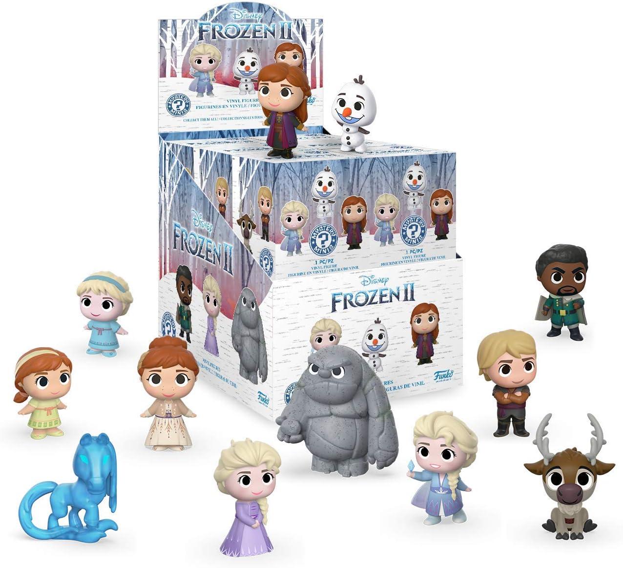 Disney Frozen 2 Pop Adventures Surprise Blind Boîte en cristal en forme de Case
