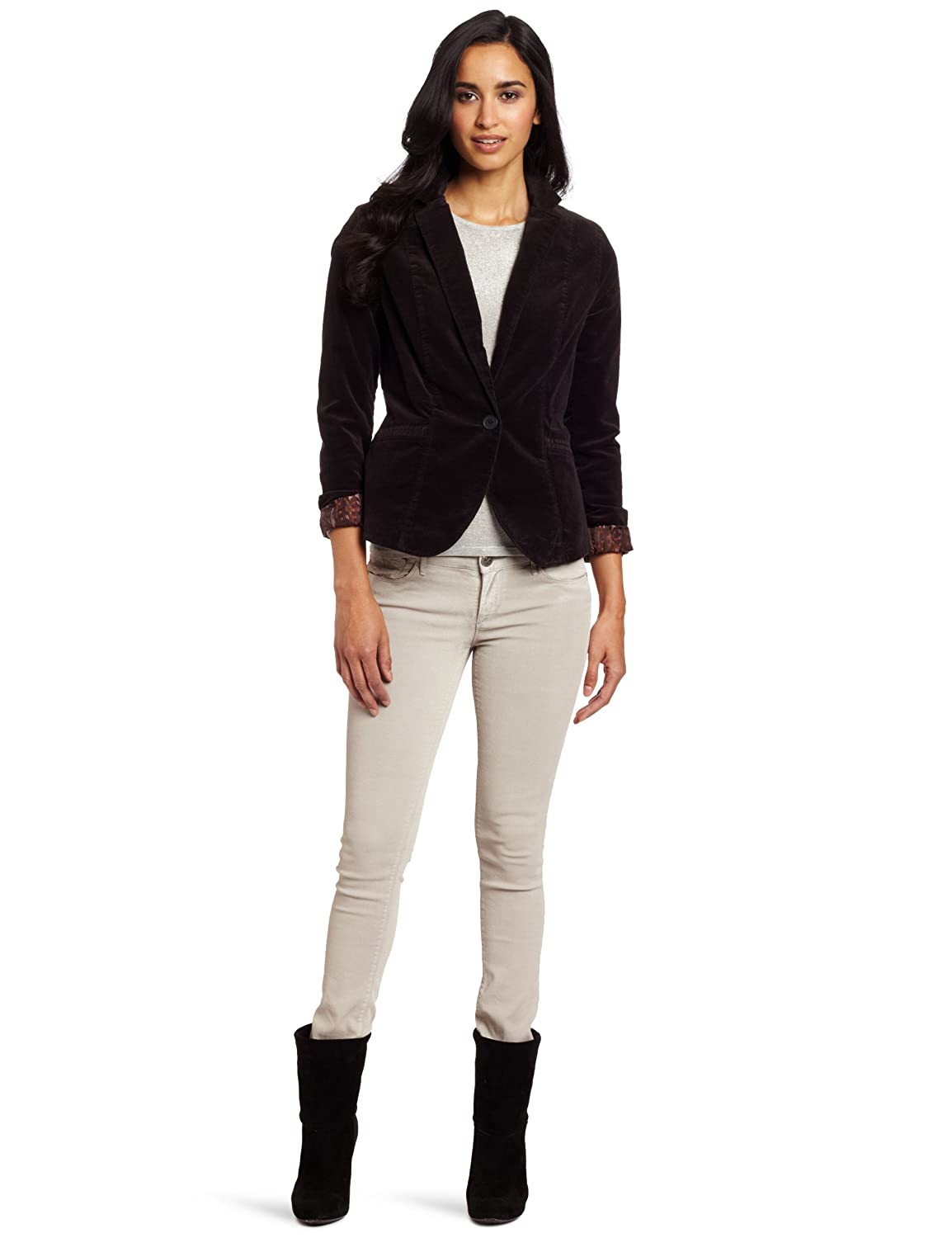 5f9fb7a62c3e1 Calvin Klein Jeans Women's Power Stretch Corduroy Blazer at Amazon Women's  Clothing store: Blazers And Sports Jackets