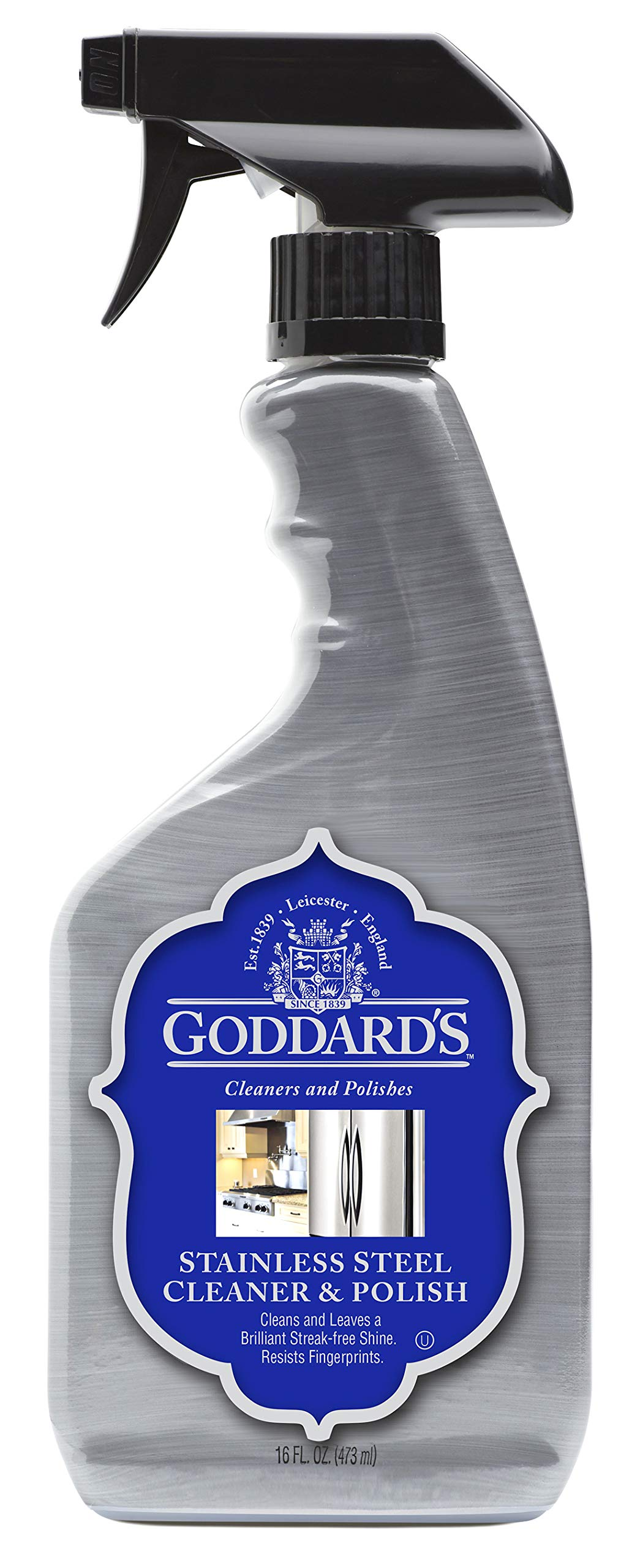 Goddard's Stainless Steel Cleaner- 16 oz, Case of 6