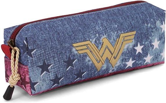 Karactermania Wonder Woman Radiant Estuches, 22 cm, Azul: Amazon.es: Equipaje