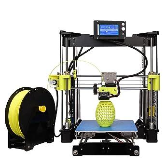 Kit de impresora 3D DIY I3B con cabezal único LCD, extrusora MK8 ...
