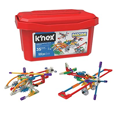 K'NEX Imagine - Click & Construct Value Building Set - 522Piece - 35 Models - Engineering Educational Toy Building Set: Toys & Games