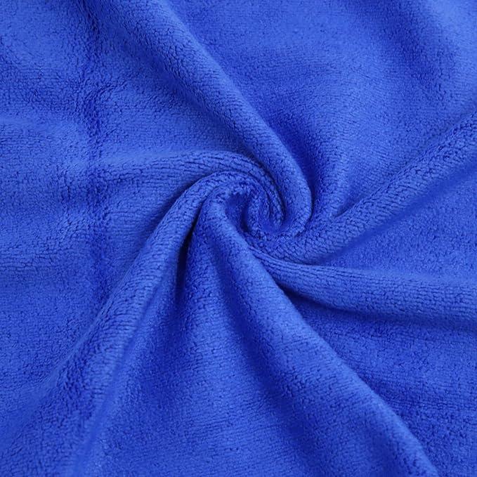 Amazon.com: eDealMax 2pcs Azul Gris del Cuerpo de coche de pulido de limpieza Lavado Wipe toalla 33cm x 65cm: Automotive