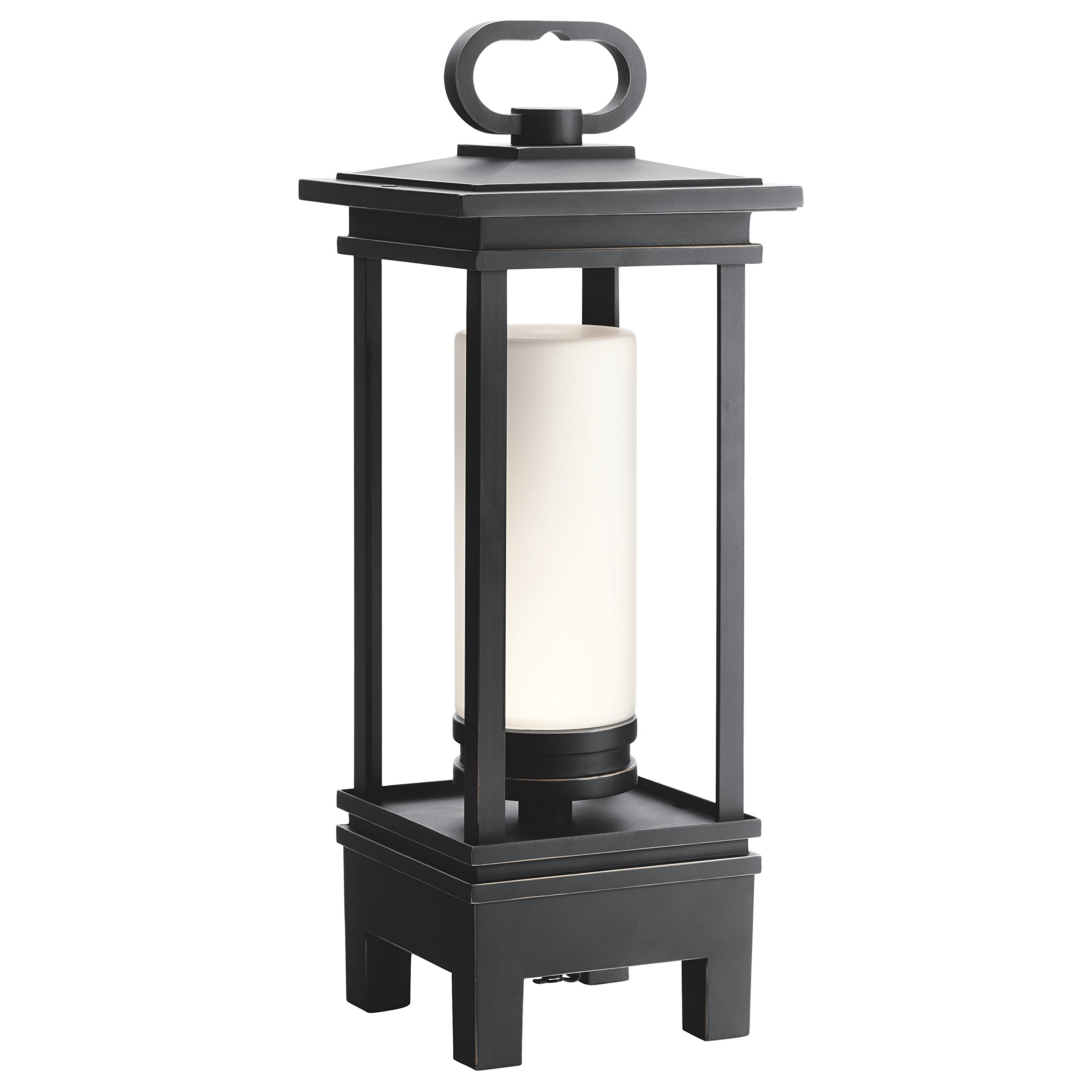 Kichler 49473RZLED South Hope Portable Bluetooth LED Lantern, 1-Light, Rubbed Bronze by Kichler