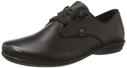 87e1df7e5271 Rieker Women s 53944 Derbys, Black, 4 UK 4 UK  Amazon.co.uk  Shoes ...