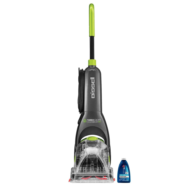 BISSELL Turboclean Powerbrush Pet Upright Carpet Cleaner Machine and Carpet Shampooer, 2085 (Renewed)