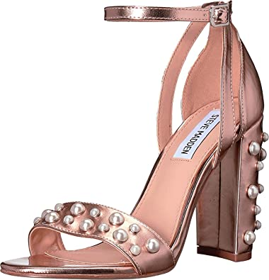 270fe34bd43 Amazon.com | Steve Madden Women's Madiera Rose Gold 10 M US M ...