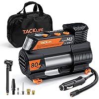 TACKLIFE M2 12V DC Digital Auto Tire Inflator Portable Air Compressor Pump with Digital… photo