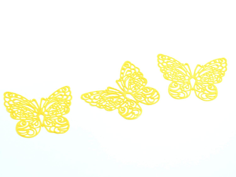 Pati-Versand 12188 Spitzendekor-Matte Butterfly Matte 8x40cm für essbare Dekore aus Zucker