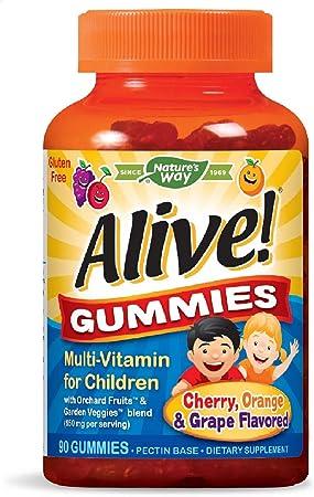 Imagen deNature 's Way Alive. Premium Gummies para los niños