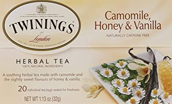 Twinings Of London Camomile, Honey & Vanilla Herbal Tea Bags, 20 Count by Twinings