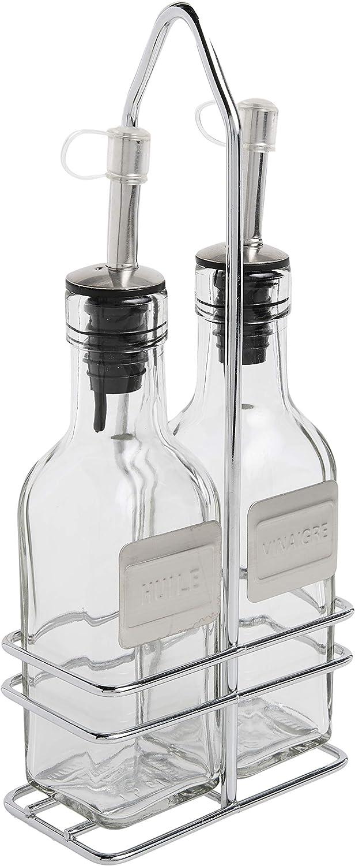 Cuisinox Oil And Vinegar Cruet Set With Caddy Olive Oil Bottles Caddies Kitchen Dining