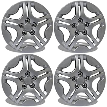 Tapacubos para Ford Windstar (Pack de 4, fijación a presión de fundas para ruedas