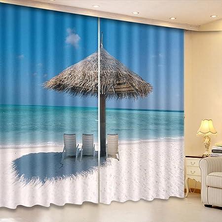 Amazon.de: LINAG Vorhänge Wohnzimmer 3D Gardinen Schlafzimmer ...