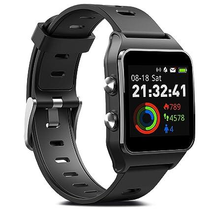 Amazon.com: FITVII Reloj inteligente GPS con 17 modos ...