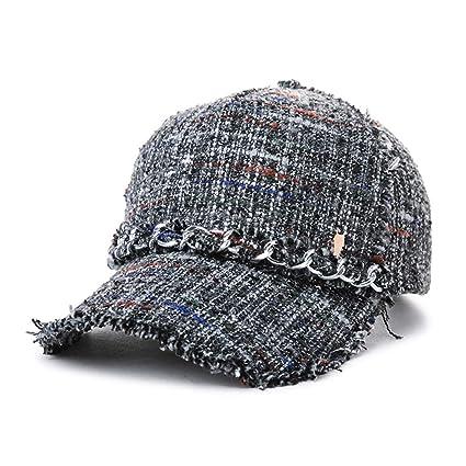 acac04c1148f Amazon.com  Baseball Caps Hats   Caps Female British Casual Hat ...