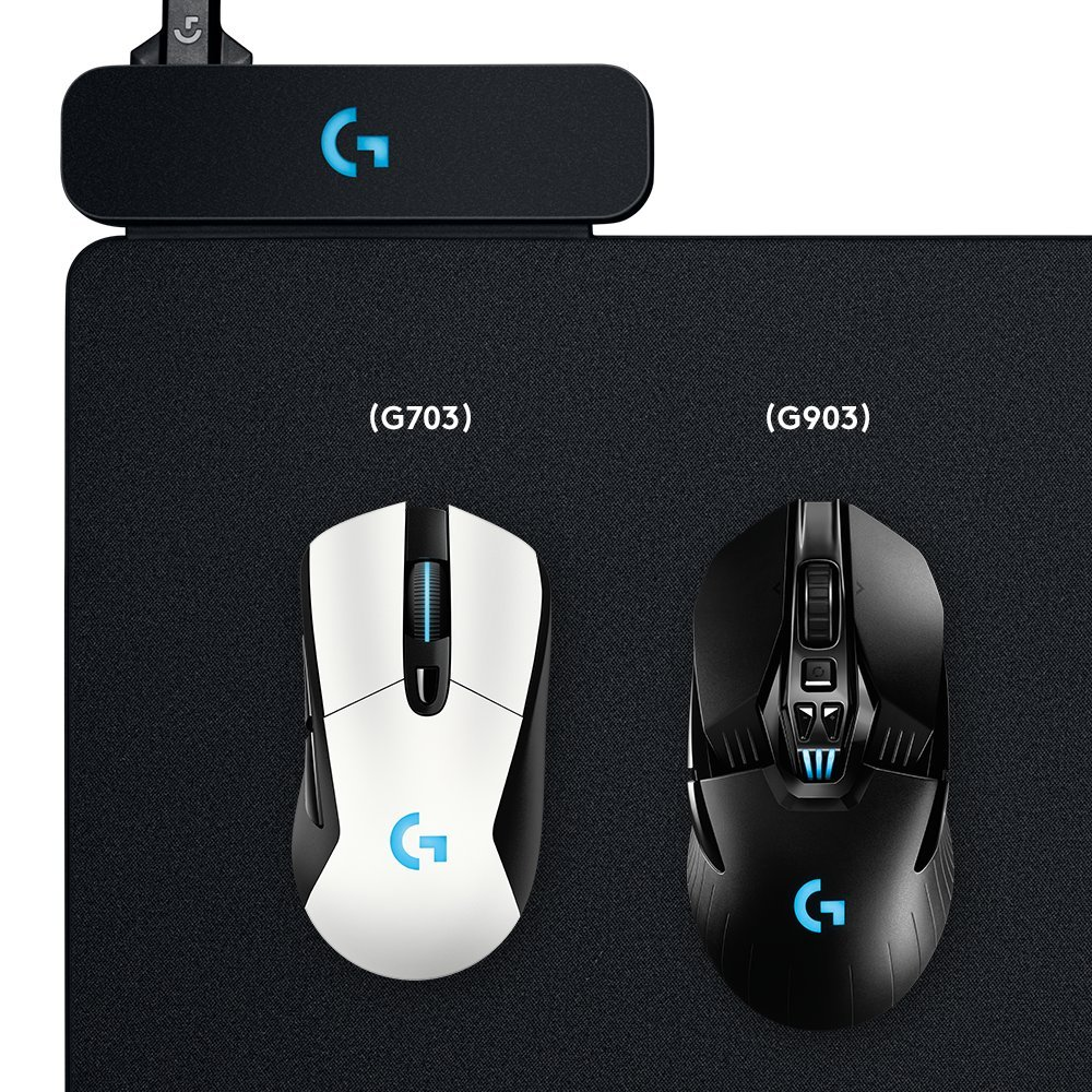 Logitech G Powerplay Wireless Charging System for G703, G903 Lightspeed Wireless Gaming Mice, Cloth or Hard Gaming Mouse Pad by Logitech (Image #3)