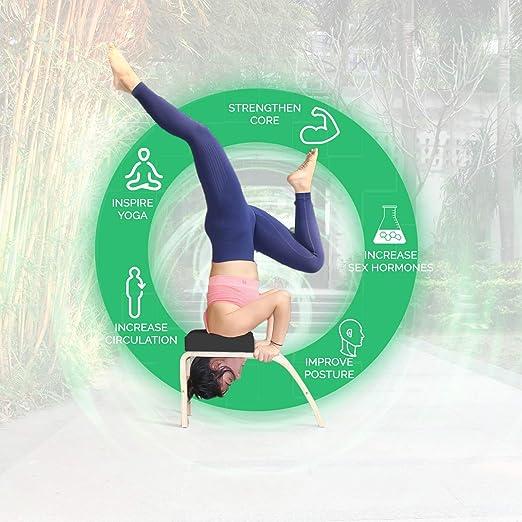 Amazon.com: Thundesk - Banco de inversión de yoga con ...