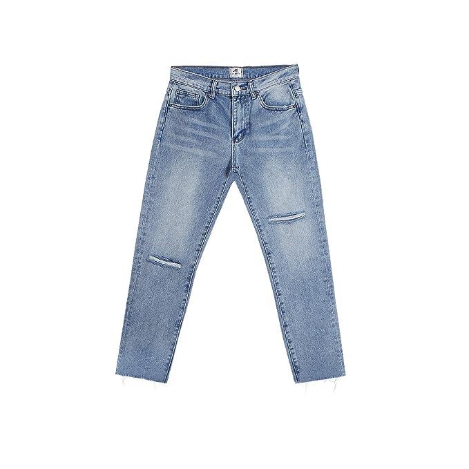 ZHAOXIANGXIANG Cuchillo De Cortar Burr Body Wash Jeans Nueve ...