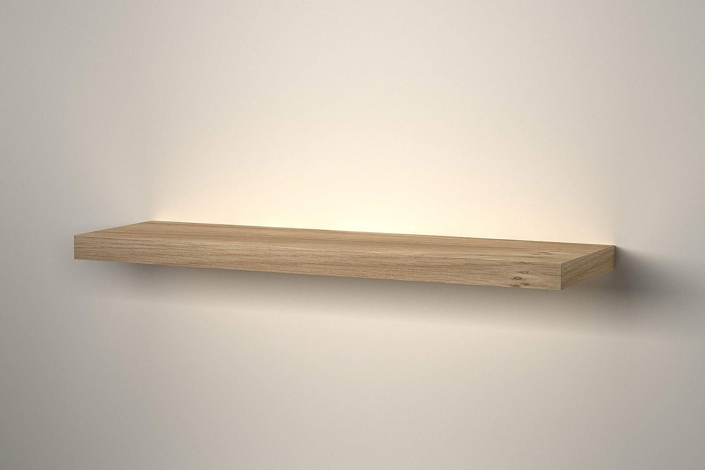 Estanter/ía Flotante de Madera para Pared Gris Urbn-Living 1 x 60cm