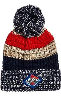 7399e7e5b14 Superdry Men s Beanie Bobble Hat Chevron Logo Knit Beanie One Size ...