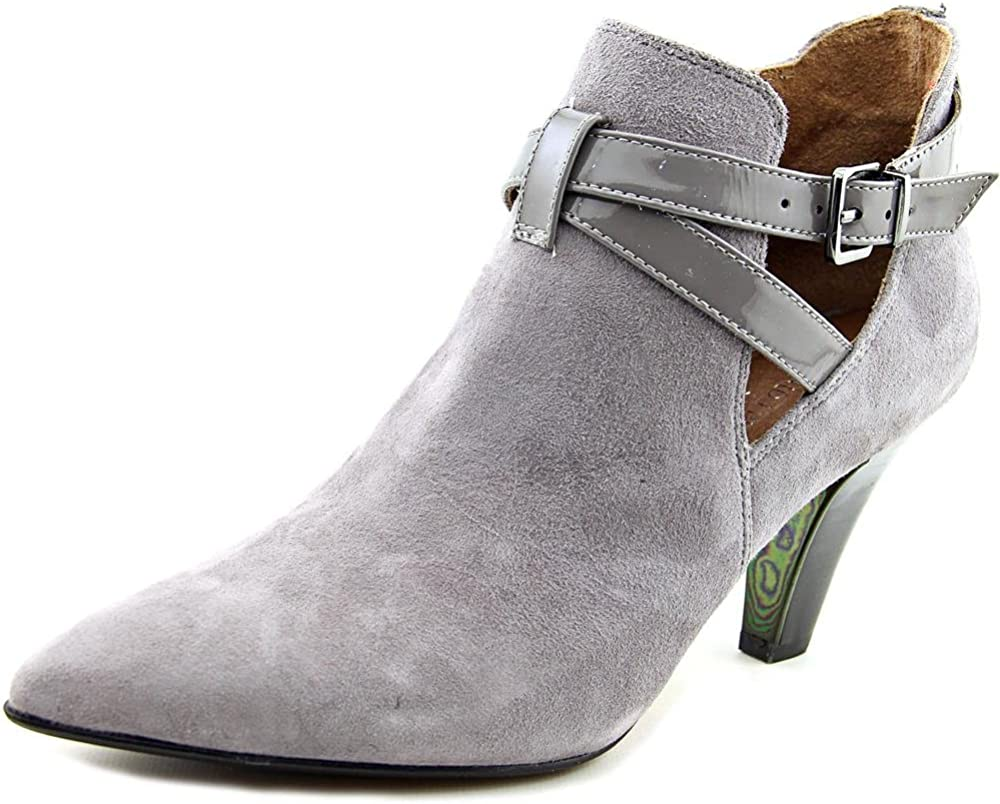Donald J Pliner Tamy Women US 8.5 Gray Ankle Boot