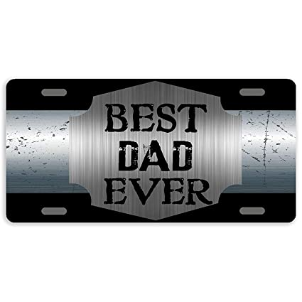 Personalized Aluminum License Plate Auto Truck Car Front Tag Sign Metal 12 x 6 Inch