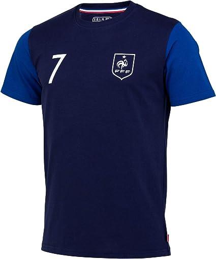 Camiseta de la selección francesa de fútbol FFF – Antoine Griezmann – Colección oficial para hombre, Hombre, azul, small