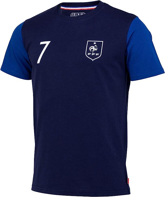 Camiseta de la selección francesa de fútbol FFF – Antoine Griezmann – Colección oficial para hombre: Amazon.es: Ropa y accesorios
