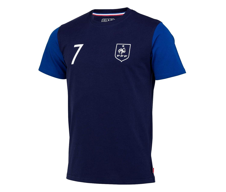 TALLA S. Equipe de France de Football Camiseta FFF–Antoine Griezmann–Collection officielle Talla Hombre