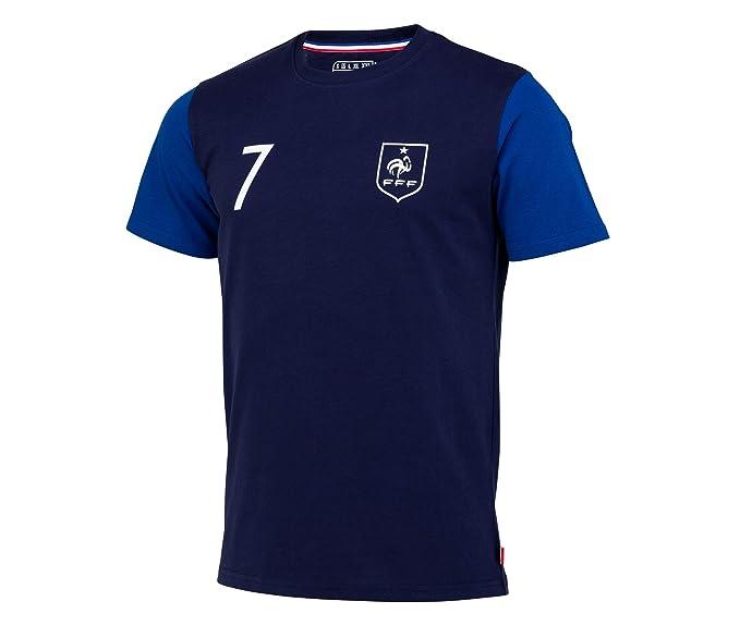 Equipe de France de Football Camiseta FFF - Antoine Griezmann - Collection officielle Talla Hombre: Amazon.es: Deportes y aire libre