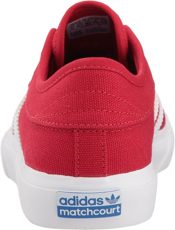 6.5 Medium US Big Kid adidas  Boys Matchcourt J Skate Shoe Medium Solid Grey//Black//White