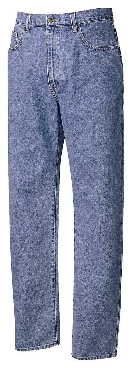 Cutter & Buck Men's 5 Pocket Jeans, Denim, 35W x 34L