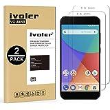 iVoler [2 Pack Pellicola Vetro Temperato Xiaomi Mi A1 [Garanzia a Vita], Pellicola Protettiva, Protezione per Schermo