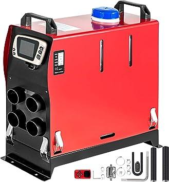 Vevor 12v Diesel Lufterhitzer 5kw Standheizung Diesel Standheizung Luft Dieselheizung Air Diesel Heizung Air Standheizung Für Auto Rv Boote Lkw Wohnmobil Bus Mit Lcd Schalter Auto