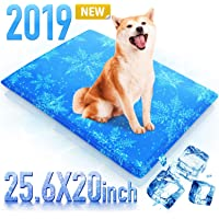 Dog Cooling Mat Pet Cooling Pad for Dog and Cat 23.6x20 Inches Gel Pets Sleeping Bed Self Cooling Cushions Bed Sofa in Summer Keep Pets Cool - Perfect for Home and Travel