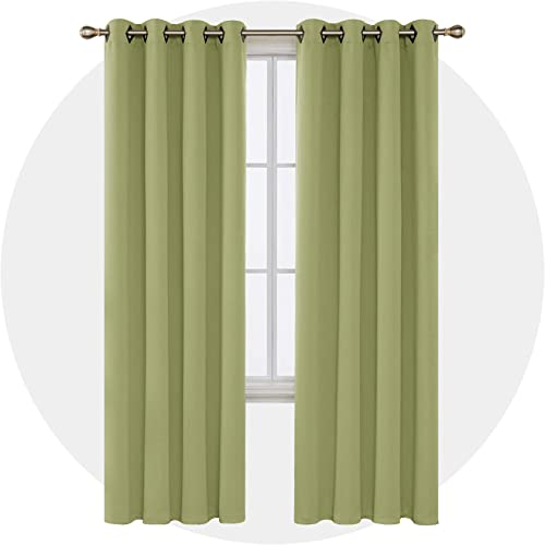 Deconovo Decorative Room Darkening Panels Thermal Blackout Grommet Insulated Curtains Review