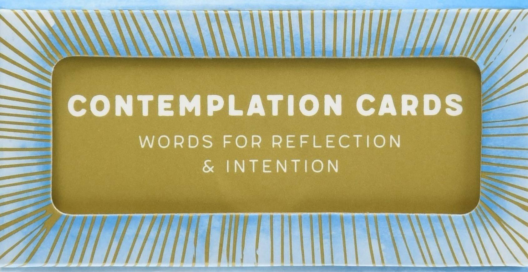 Contemplation Cards: Words for Reflection & Intention pdf epub