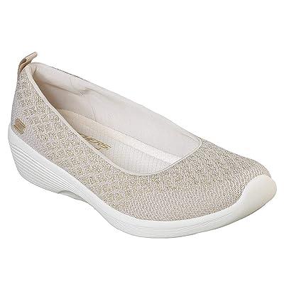 Skechers Arya in The Stars Womens Slip On Skimmer Sneakers | Fashion Sneakers