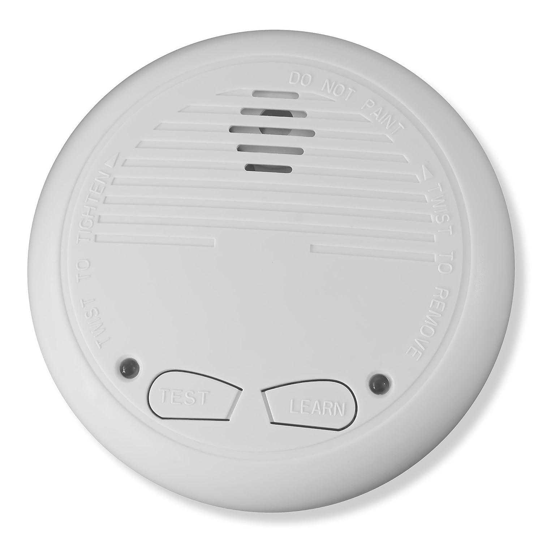 6X Nemaxx WL10 D/ét/écteur de fum/ée sans Fil avec Pile en Lithium dune dur/ée de 10 Ans Incendie s/écurit/é Alarme capteur fum/ée Conforme DIN en 14604