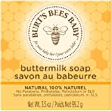 Burt's Bees Baby Buttermilk Soap, 100% Natural Baby Soap Bar, 3.5 Ounce Bar