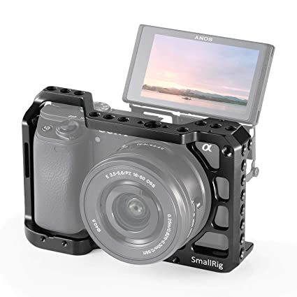 SMALLRIG - Jaula para cámara Sony A6400 con Puntos de Montaje 2310 ...