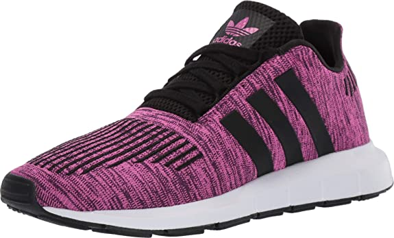Estación Fiesta fenómeno  Adidas Kids(Junior) Unisex Originals Swift Run Shoes (4.5 M US Big Kid,  Shock Pink/CORE Black/FTWR White): Amazon.co.uk: Shoes & Bags