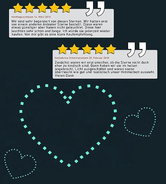 Paraboo Etoiles Phosphorescentes Et Autocollants Lumineux, Stickers Muraux  Beaux Ou Stickers Muraux Pour Enfants Et Décoration Pour Chambre à Coucher:  ...