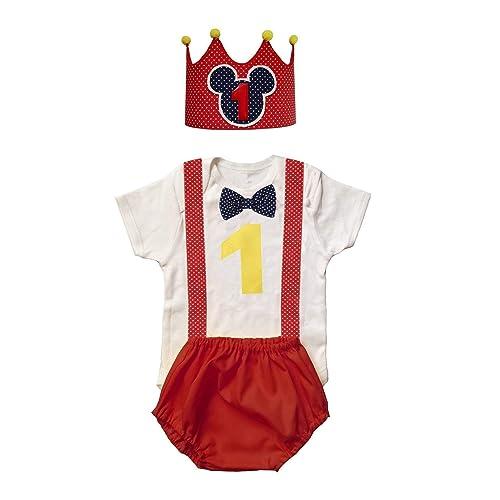 Conjunto bebe niño primer / 1er cumpleaños 1 año/INCLUYE ...