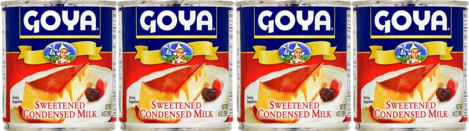 Amazon.com : Goya Sweetened Condensed Milk 14oz | Leche Condensada ...