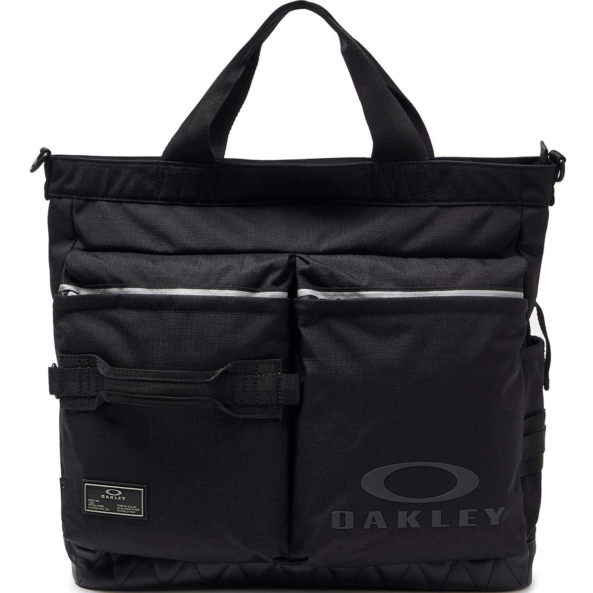 Oakley Mens Men's Utility Tote Bag, Blackout, NOne SizeIZE