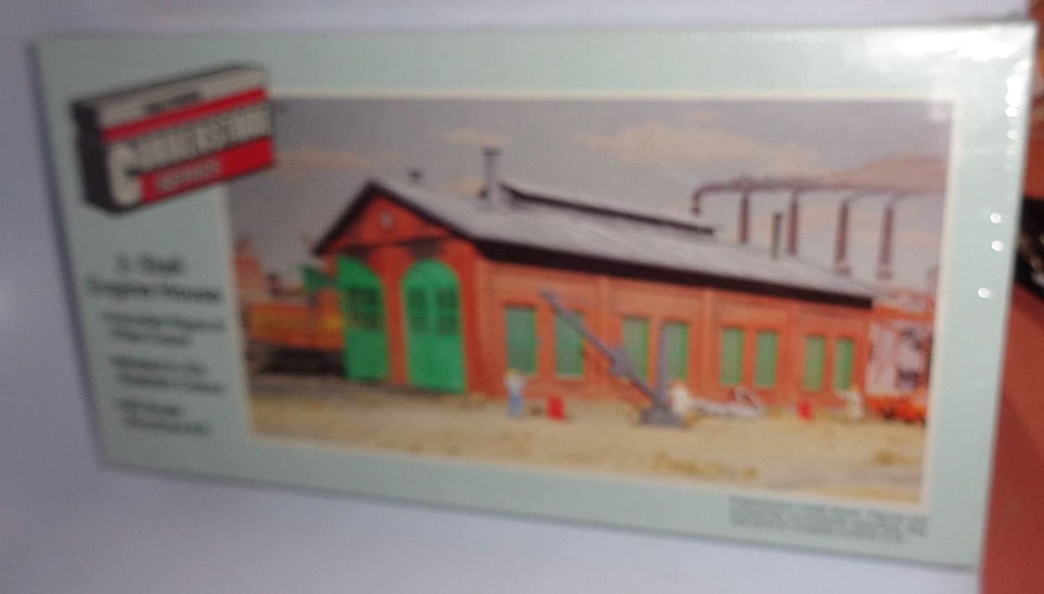 Faller 120165 2 Stall Engine shed HO Scale Building Kit