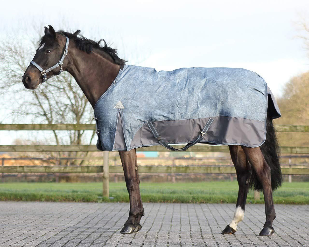 QHP Turnoutdecke Pferdedecke Regendecke Outdoordecke Fleecedecke Turnout Ausreitdecke ARBO-Inox® Typ 5)