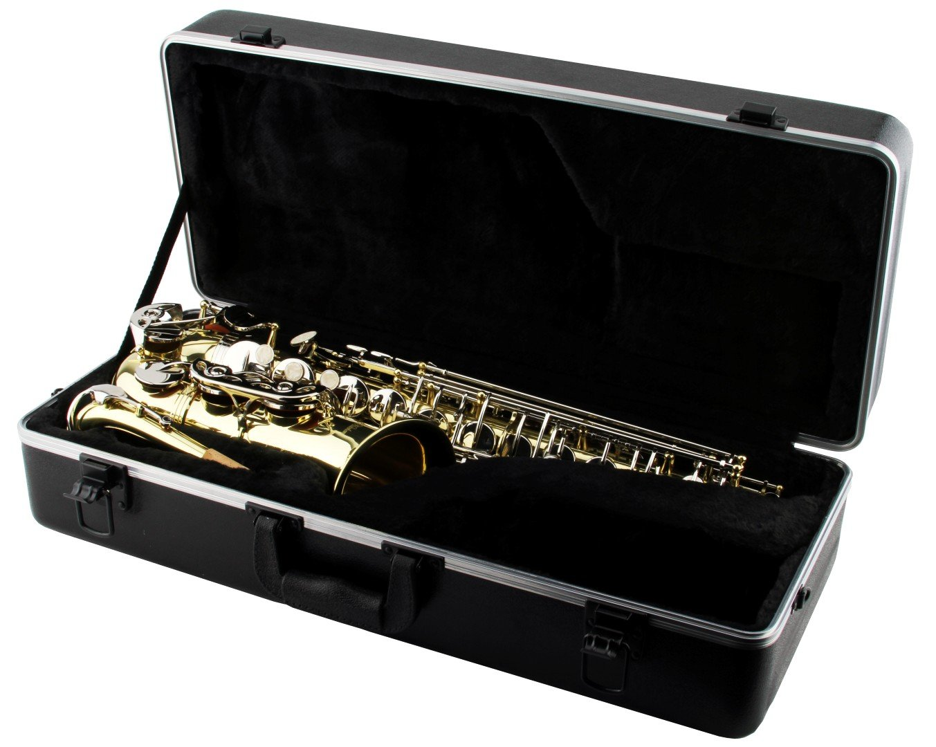 LJ Hutchen Eb Alto Saxophone with Plush-Lined Case by LJ Hutchen
